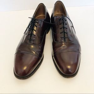 Johnston Murphy Oxford Shoes Brown Size 12